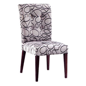 Full-cover Fabric Chair